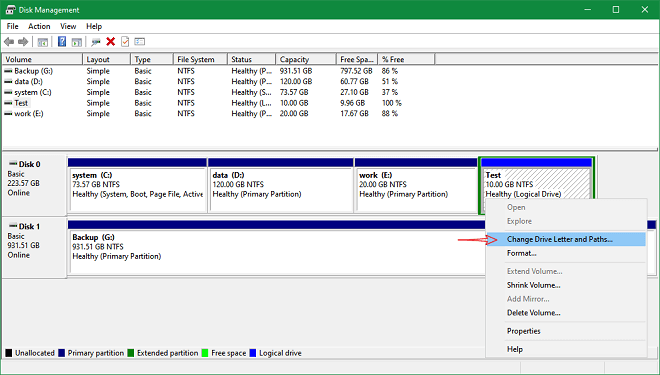 can't find hard drive partition on computer