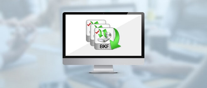 recover deleted BKF files