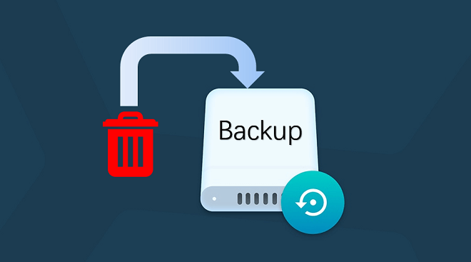 recover deleted backups on Mac