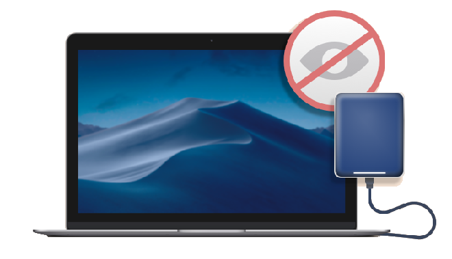 Fixed: WD My Passport not showing up on Mac Desktop/Finder/Disk Utility