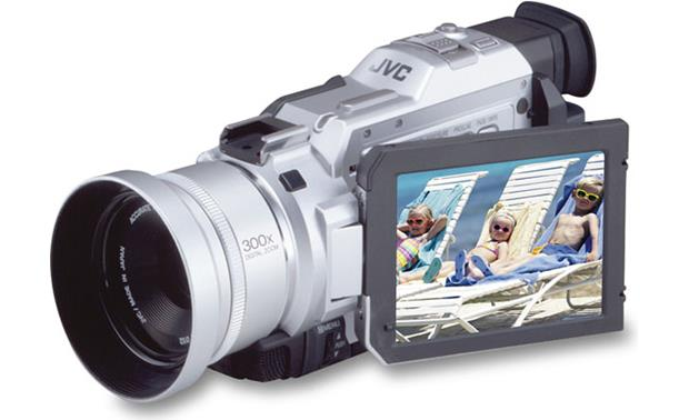 JVC digital camcorder data recovery