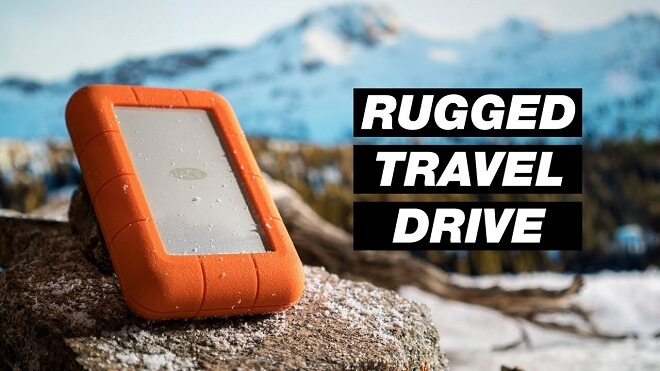 recover lost data from Lacie Rugged Drive on Mac