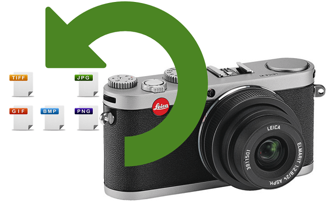 recover lost photos from Leica digital camera