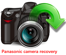 how to recover lost data from Panasonic digital camera