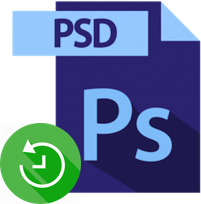 recover deleted PSD files