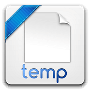 how to recover deleted temporary files