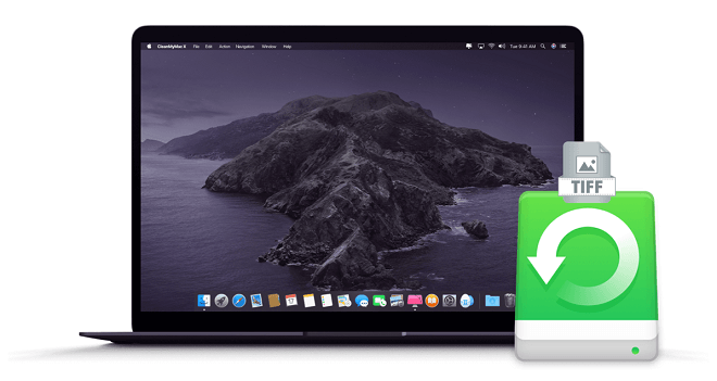 recover deleted TIFF images on Mac