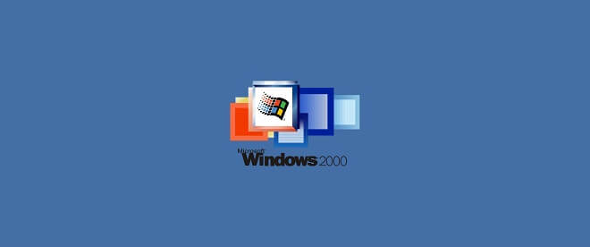 recover lost data on Windows 2000